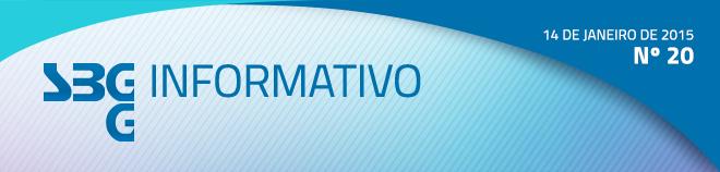 SBGG Informativo - Nº 20 - 14 de janeiro de 2015