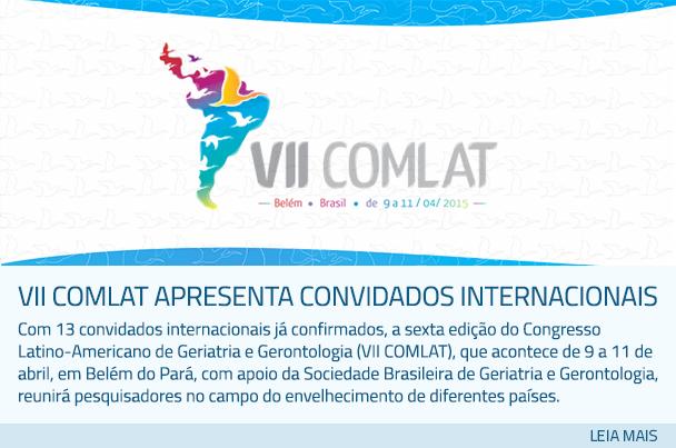 VII COMLAT apresenta convidados internacionais