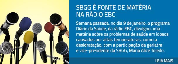 SBGG é fonte de matéria na rádio EBC