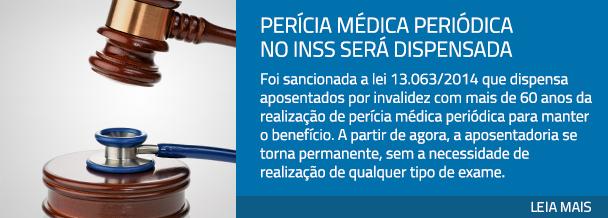 Perícia médica periódica no INSS será dispensada